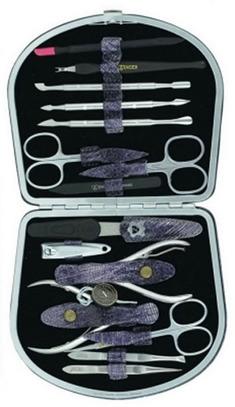 Маникюрный набор Zinger MSFE-1100 (15 предметов)