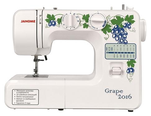 Электромеханическая швейная машина Janome Grape 2016