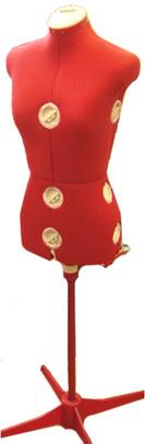 Манекен портновский женский раздвижной Siera Dressform MOD.150 (42-50)