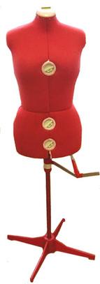 Манекен портновский женский раздвижной Siera Dressform MOD.151 (50-58)