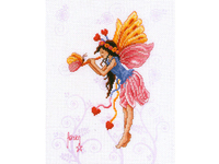 """Набор для вышивания Vervaco """"Фея-бабочка с розово-жёлтыми крылышками"""" 2720-70205"""