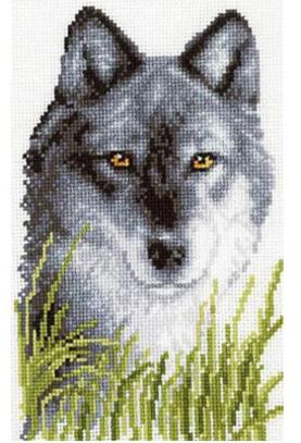 """Набор для вышивания Vervaco """"Волк. Ожидание"""" 2002-70023"""