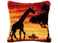 Набор для вышивания Vervaco Ковровая подушка 40х40 см PN-0014276