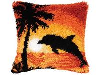 Набор для вышивания Vervaco Ковровая подушка 40х40 см PN-0014265