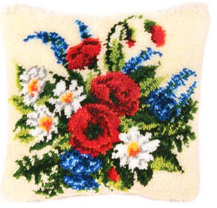 Набор для вышивания Vervaco Ковровая подушка 40х40 см PN-0006227