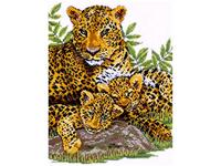 """Набор для вышивания DESIGN WORKS """"Семейство леопардов"""" 9935"""