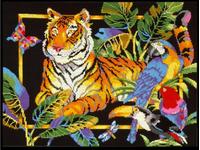 """Набор для вышивания DESIGN WORKS """"Тигр"""" 9440"""