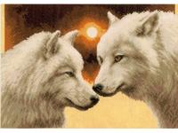 """Набор для вышивания Vervaco """"Волки в полнолуние"""" PN-0148549"""