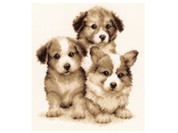 """Набор для вышивания Vervaco """"Три щенячьих короля"""" PN-0147003"""
