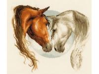 """Набор для вышивания Vervaco """"Двое лошадей"""" PN-0145086"""