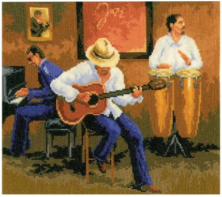 """Набор для вышивания Vervaco """"Джазовые ритмы"""" 2002-75328"""