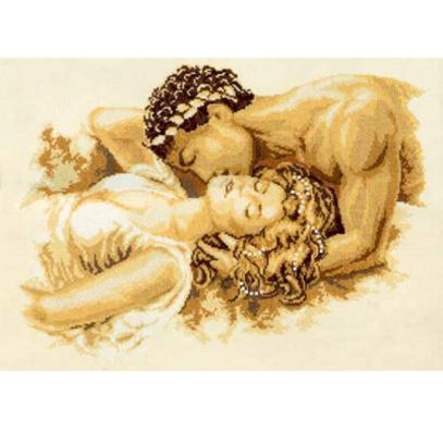 """Набор для вышивания Vervaco """"Поцелуй"""" 2002-75822"""