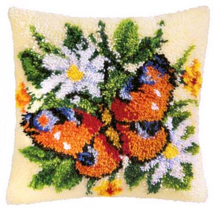Набор для вышивания Vervaco Ковровая подушка 40х40 см PN-0006192