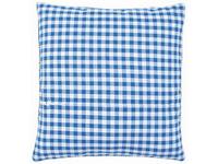 Обратная сторона подушки Vervaco голубая клетка с молнией 45х45 см PN-0154661