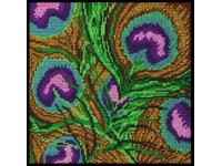 "Набор для вышивания DESIGN WORKS Гобелен ""Павлиньи перья"" (""Peacock Feathers"") 2518"
