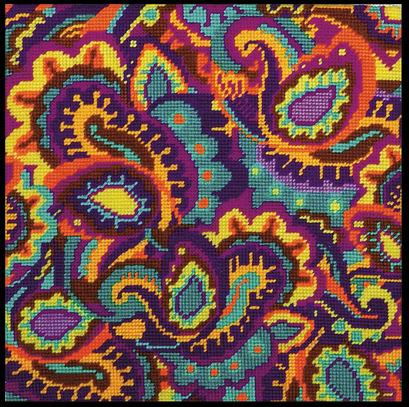 """Набор для вышивания DESIGN WORKS Гобелен """"Орнамент """"пэйсли"""""""" (""""Paisley"""") 2521"""