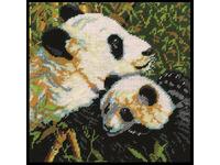 "Набор для вышивания DESIGN WORKS Гобелен ""Панды"" (""Pandas"") 2522"
