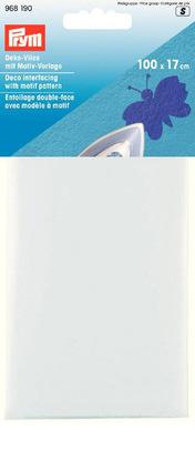 Флизелин для выполнения аппликаций (клеевой) Prym 100 x 17 см арт. 968190