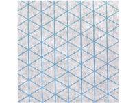 Флизелин прокладка нашивная для пэчворка Freudenberg треугольники арт. Rasterquick Dreieck