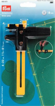 Круговой нож-циркуль Prym 18мм, (готовый круг d 4-22см) арт. 610471