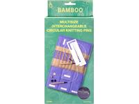Набор спиц Pony подарочный, бамбук арт. 57801