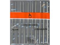 Набор вязальных крючков Pony 2.00-5.00 13 см 10 шт. арт. 44221