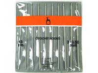 Набор вязальных крючков Pony 2.00-3.50 13 см 10 шт. арт. 44220