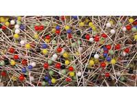Булавки Prym со стеклянными головками, цветные арт. 029116