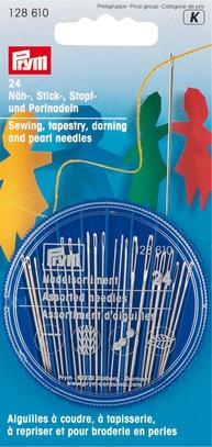 Иглы ручные Prym набор д/шитья, вышивки, штопки арт. 128610
