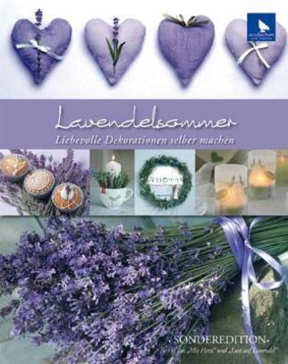 Книга Acufactum Ute Menze Lavendelsommer /Лавандовое лето/ K-4012