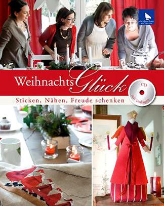 Книга Acufactum Ute Menze WeihnachtsGluck /Счастливое Рождество/ книга с CD K-4014