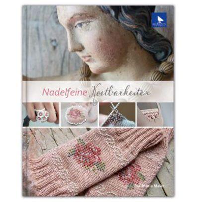 Книга Acufactum Ute Menze Nadelfeine Kostbarkeiten /Изящное украшение/ K-4027