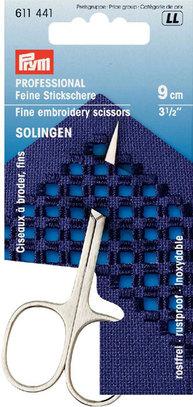 Ножницы Prym д/вышивки-Solingen, 9см 611441