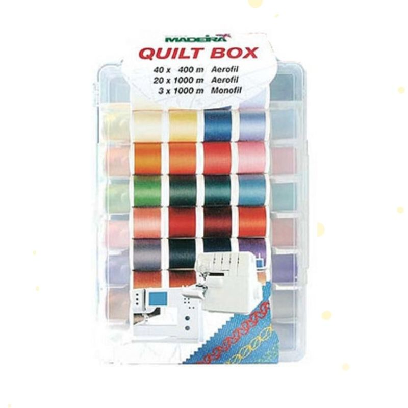 Набор универсальных ниток Madeira Aerofil Quilt Box 8062