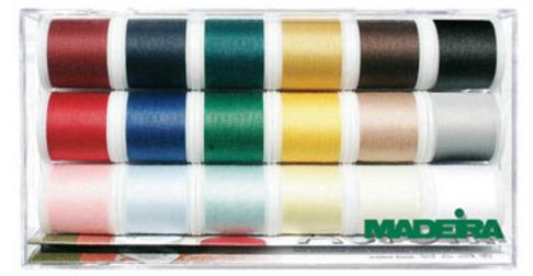 Набор универсальных ниток Madeira Aerofill 8041