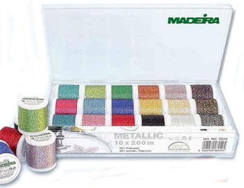 Набор вышивальных ниток Madeira Metallic Supertwist 8020