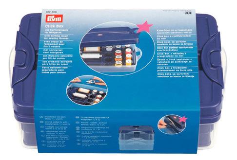 Клик-бокс с ячейками для швейных ниток Prym 612406