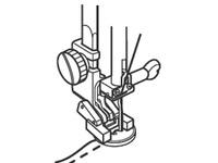 Лапка для швейных машин Janome с горизонтальным челноком для пришивания пуговиц (арт. 200-136-002)