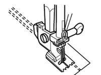 Лапки для швейных машин Janome с горизонтальным челноком для защипов с мелкими и глубокими желобками (арт. 200-317-009 )
