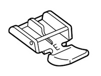 Лапка для швейных машин Janome с вертикальным челноком для пришивания молний (арт. 940-290-000)