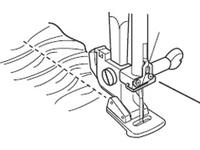 Лапка для швейных машин Janome с вертикальным челноком для сборок (арт. 200-124-007)