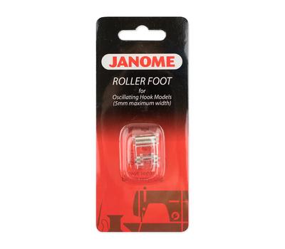 Лапка для швейных машин Janome с вертикальным челноком для кожи роликовая (арт. 200-142-001)