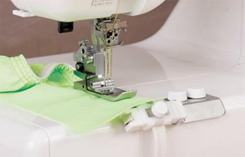Приспособление распошивальных машин Janome для  пришивания резинки 6-8 мм (795-816-105)