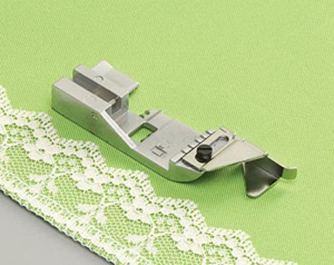 Лапка оверлочная Babylock для вшивания декоративной тесьмы (арт. B5002S08A-E)