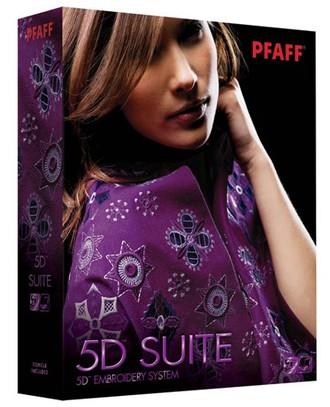 Программное обеспечение Pfaff 5D Suite