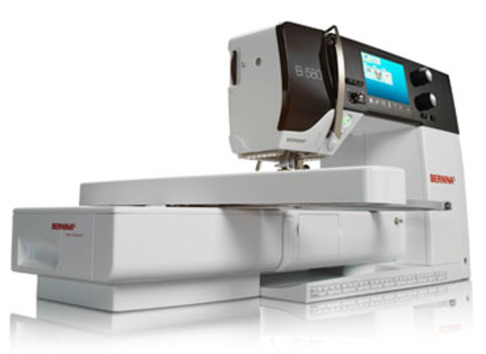 Швейно-вышивальная машина Bernina 580 + блок
