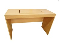 Стол разборный для швейной машины (KD-T1-B001), Бук