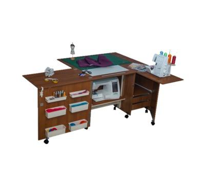 Стол для швейно-вышивальной машины Комфорт - 5L+ поверхность для раскроя