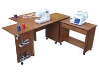 Стол для швейной машинки Комфорт -7 + с поверхностью для кроя