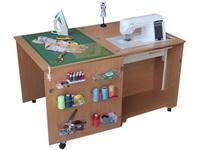 Стол для швейной машины и оверлока Комфорт 1Q (К1QL/К1QXL)